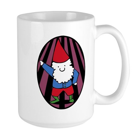 Disco Gnome Large Mug