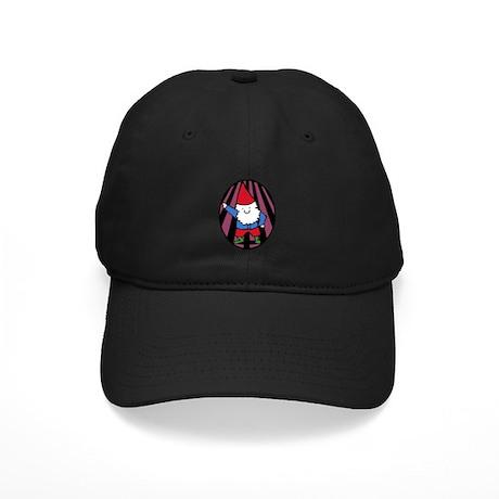 Disco Gnome Black Cap