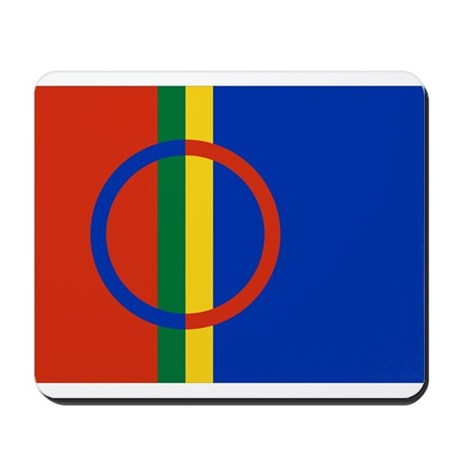 Flag of the Sami People Mousepad