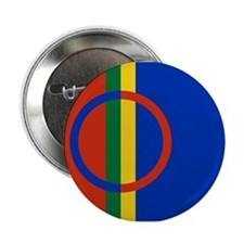 "Flag of the Sami People 2.25"" Button"