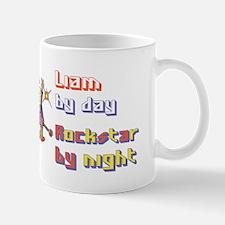 Liam - Rock Star by Night Mug