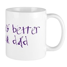 2-dadrides_color Mugs