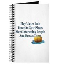 Reasons to play water polo -- Journal