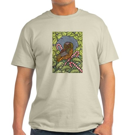 Christmas Owl Light T-Shirt