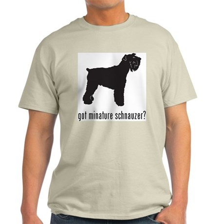 Minature Schnauzer Light T-Shirt