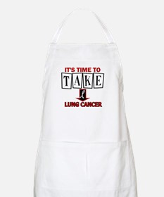 Take Down Lung Cancer 3 BBQ Apron