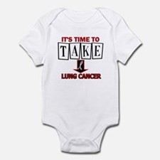 Take Down Lung Cancer 3 Infant Bodysuit