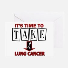Take Down Lung Cancer 3 Greeting Card