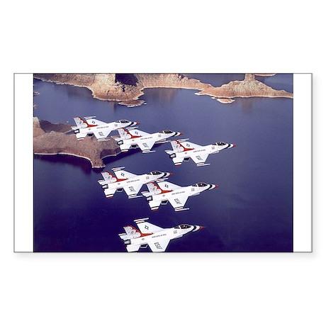 US Air Force Thunderbirds Rectangle Sticker