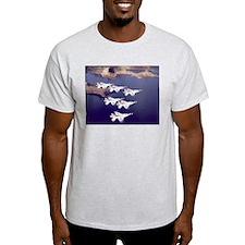 US Air Force Thunderbirds Ash Grey T-Shirt