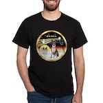 XmasDove/Basenji #2 Dark T-Shirt
