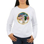 XmasMagic/Spinone #11 Women's Long Sleeve T-Shirt