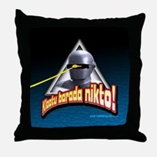 Gort!... Throw Pillow