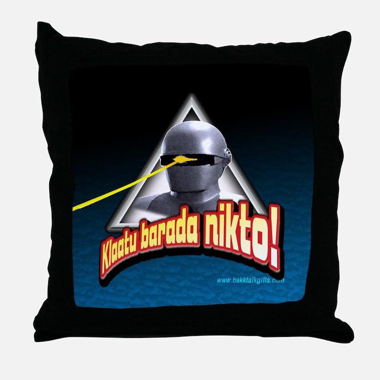 Gort!... Throw Pillow