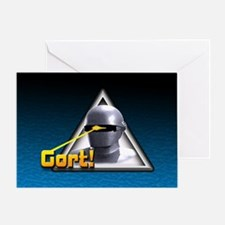Gort!... Greeting Card