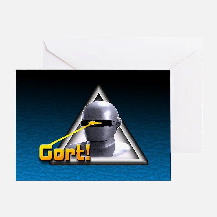 Gort!... Greeting Card