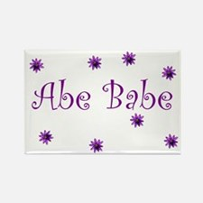 Abe Babe Rectangle Magnet (100 pack)