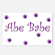 Abe Babe Postcards (Package of 8)