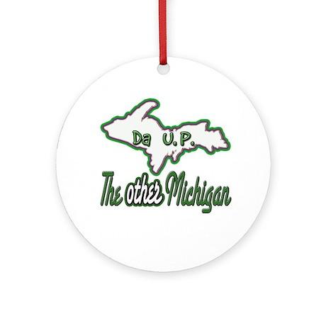 Other Michigan Ornament (Round)