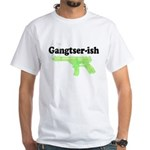 Gangster-ish White T-Shirt