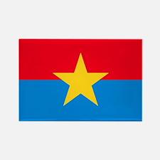 Viet Cong Flag Rectangle Magnet