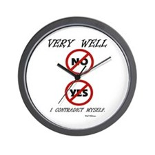 YES, NOE - WHY NOT? Wall Clock