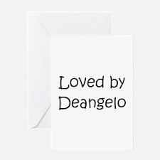 Cute Deangelo Greeting Card