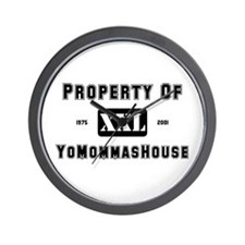 PROP. OF YMH | Wall Clock