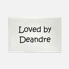 Cute Deandre Rectangle Magnet