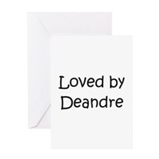 Cute Deandre Greeting Card
