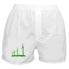 Green Wind Power Boxer Shorts