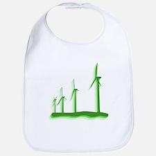 Green Wind Power Bib