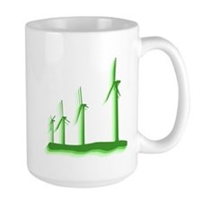Green Wind Power Mug