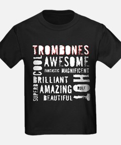 Are_Hot_Trombones-white copy T-Shirt