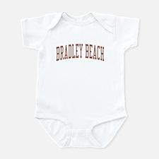 Bradley Beach New Jersey NJ Red Infant Bodysuit