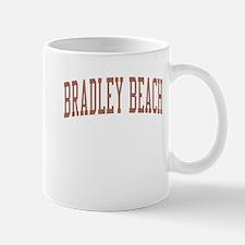 Bradley Beach New Jersey NJ Red Mug
