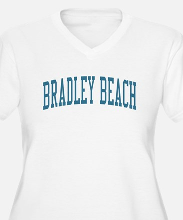 Bradley Beach New Jersey NJ Blue T-Shirt