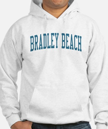 Bradley Beach New Jersey NJ Blue Hoodie