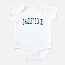 Bradley Beach New Jersey NJ Blue Infant Bodysuit