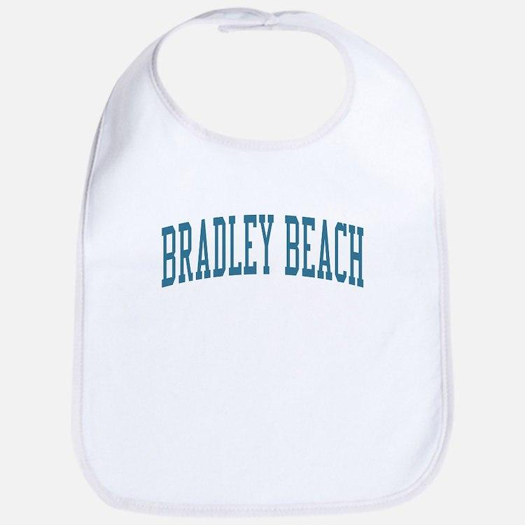 Bradley Beach New Jersey NJ Blue Bib