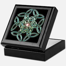 Triquetra Circle Knot Keepsake Box