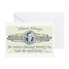 Obama Made World Better Greeting Card