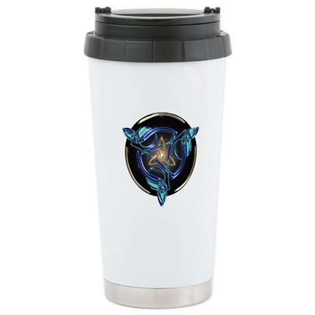 The Triquetra Stainless Steel Travel Mug