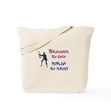 Brayden - Ninja by Night Tote Bag