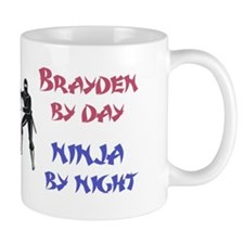 Brayden - Ninja by Night Mug