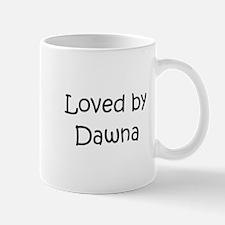 Cute Dawna Mug
