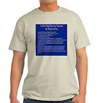 12 steps for bush cultists Ash Grey T-Shirt