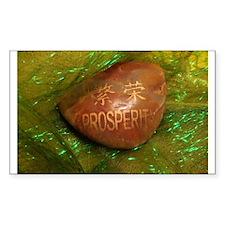 """PROSPERITY"" Rectangle Sticker 10 pk)"