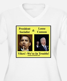 """""""We're In Trouble"""" T-Shirt"""