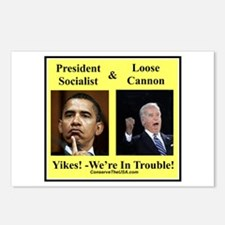 """We're In Trouble"" Postcards (Package of 8)"